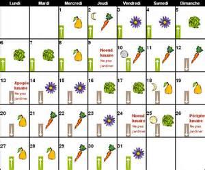 calendrier lunaire 2015 2016 jardiner avec la lune 2016