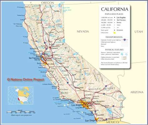 printable road map of california printable road map of california printable maps