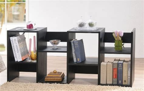 Enitial Lab Mateo Open Back Bookcase White Doherty House White Open Back Bookcase