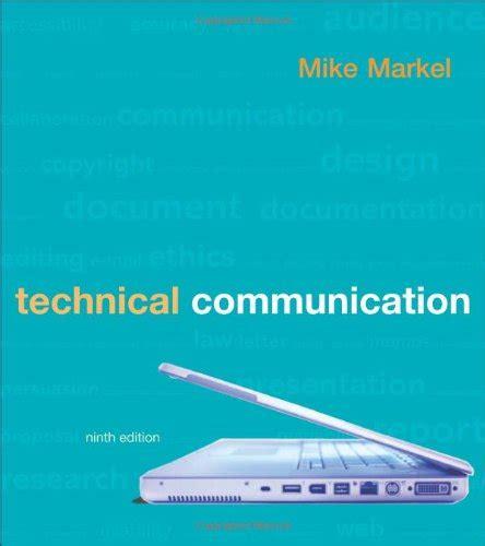 technical communication 0312485972 technical communication