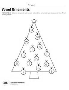 vowel ornaments worksheet paging supermom