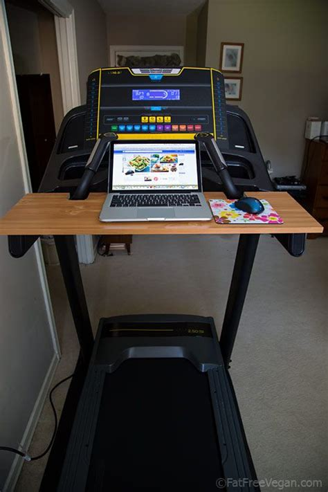 Laptop Desk For Treadmill How To Make Your Own Treadmill Desk Treadmill Desk And Desks