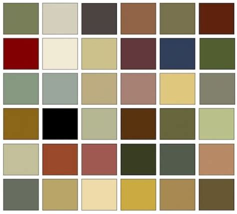 Craftsman Interior Colors by Arts And Crafts Colors Are A Harmonious Palette Taken From