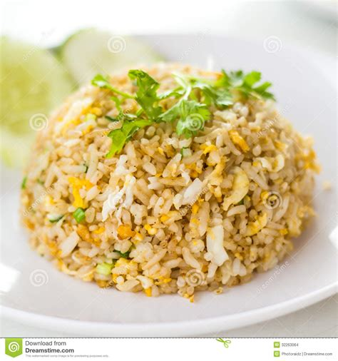 Rice Style by Macro Fried Rice Stock Images Image 32263064