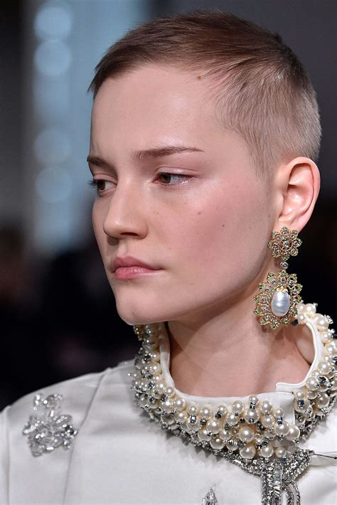 how to look feminine with a crew cut female buzz cut the haircut and the political statement