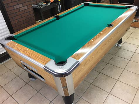 table valley table 020 117 valley used coin operated bar pool tables