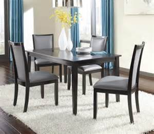 furniture trishelle pc espresso dining table set