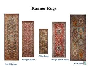 different sizes and shapes of the handmade rugs