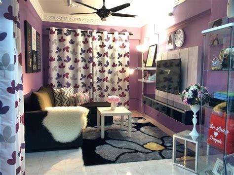 Lu Hias Kecil Warna Warni 16 idea ruang tamu ungu ini khas untuk peminat ungu hiasan dalaman ruang tamu