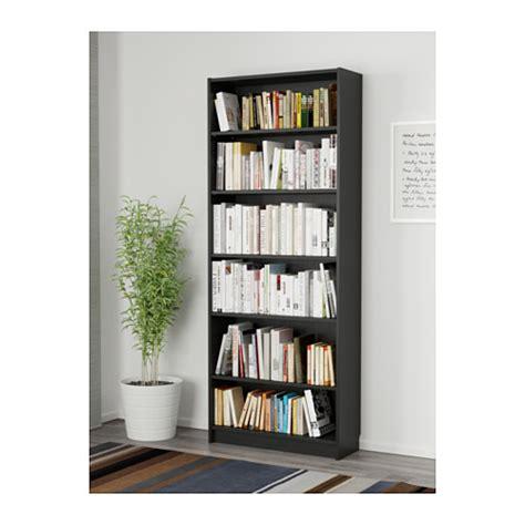 billy bookcase black brown 80x28x202 cm ikea