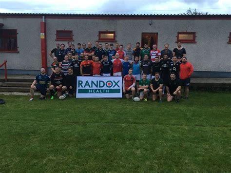 randox health rugby legends taking randox preventive health message on tour