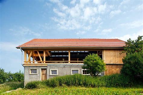 Haus Im Haus Scheune by Architektenh 228 User Umgebaute Scheune Sch 214 Ner Wohnen