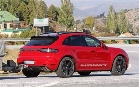 2019 Porsche Macan Turbo 2019 porsche macan turbo makes not so glamorous debut