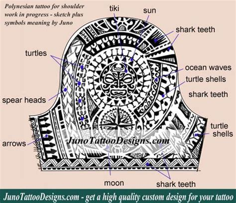 polynesian tattoo symbols polynesian tattoos meaning how to create yours