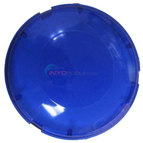 pool light lens cover pentair aqualuminator blue lens cover kit 79123401