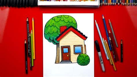draw  house emoji art  kids hub