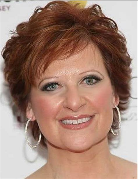 short hairstyles for women over 50 for brown hair and highlights cute easy hairstyles with bangs for short straight hair