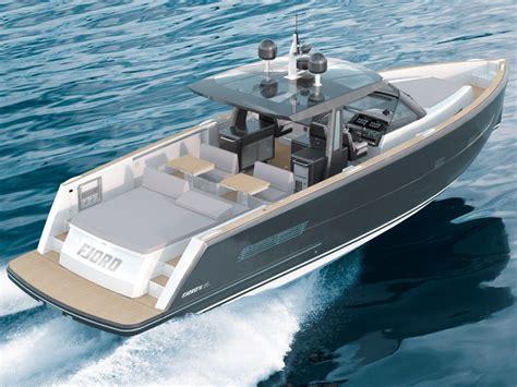 fjord boats rozpoczęcie produkcji fjord 48 open magazyn jachting