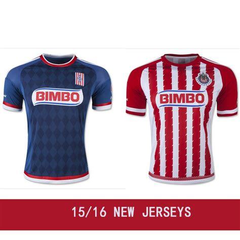T Shirt Chivas 01 2016 home soccer jerseys 15 16 camisa chivas
