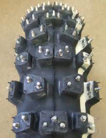 Trelleborg Tires Studded Trelleborg Mitas Studded Winter Motorcycle Tire Rear 110