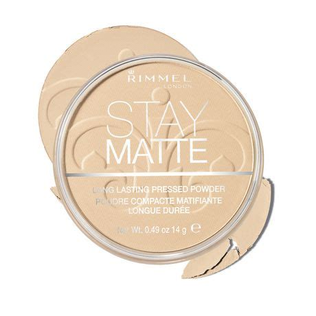 Rimmel Stay Matte Powder stay matte pressed powder walmart ca
