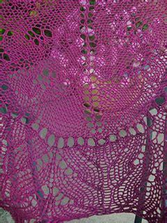 Sugar Plum Swirl ravelry sugar plum swirl triangular knitted shawl pattern
