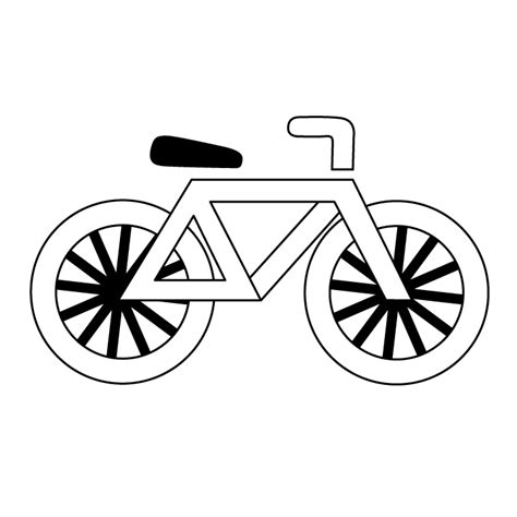 Old Bicycle Coloring Coloring Pages Bike Colouring Pages