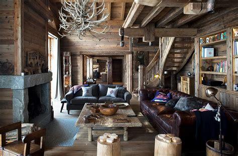 Lodge Style Home Decor by Decordemon Luxury Ski Chalet In Meribel