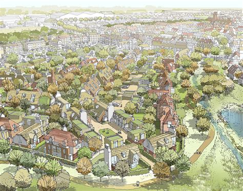 layout village plans for the village layout in the dunsfold park masterplan