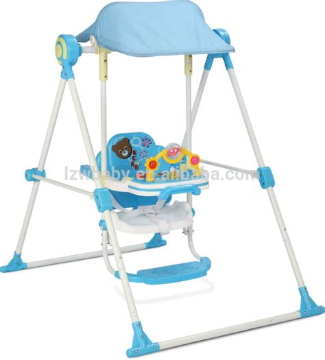 high baby swing lzw factory new modle baby swing high chair model q213p