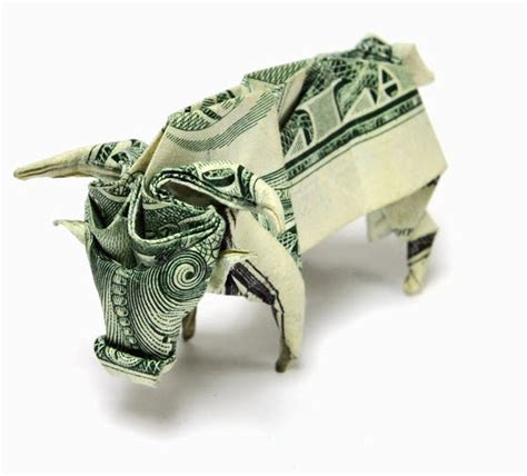 Dollar Origami - 12 impressive dollar bill origami creations photos