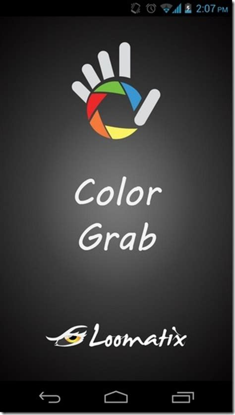 color grab use your android device s to identify colors in