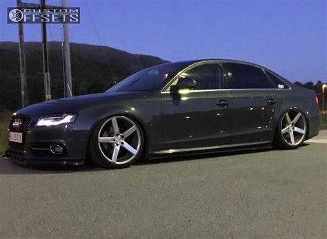 2008 audi a4 wheels wheel offset 2008 audi a4 tucked bagged
