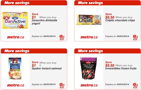printable grocery coupons ontario canada metro ontario canada printable grocery coupons feb 28
