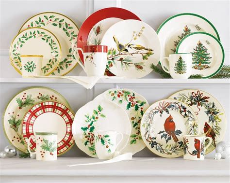 lenox spode christmas dinnerware collections belk