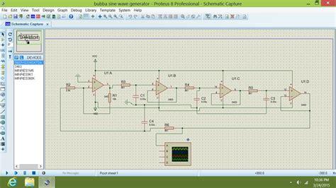 proteus bubba oscillator electrical engineering stack