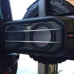 Jeep Wrangler Subwoofer Top 25 Best Jeep Wrangler Custom Ideas On