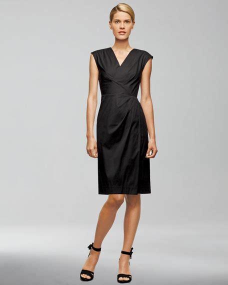 Elsa Dress Spandek lafayette 148 new york elsa wrapped dress
