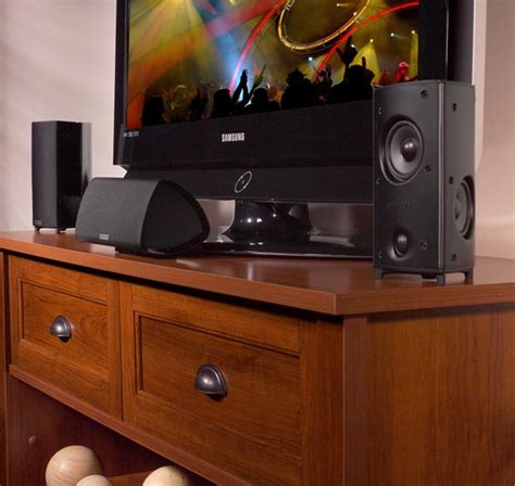 polk audio rm705 5 1 home theater system six speakers new