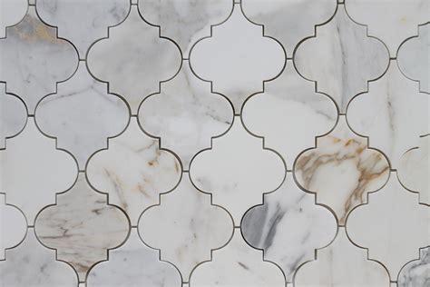 gold arabesque tile calacatta gold polished arabesque marble mosaic tiles
