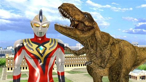 film upinipin ultraman upin ipin ultraman justice vs t rex dinosaur and monster