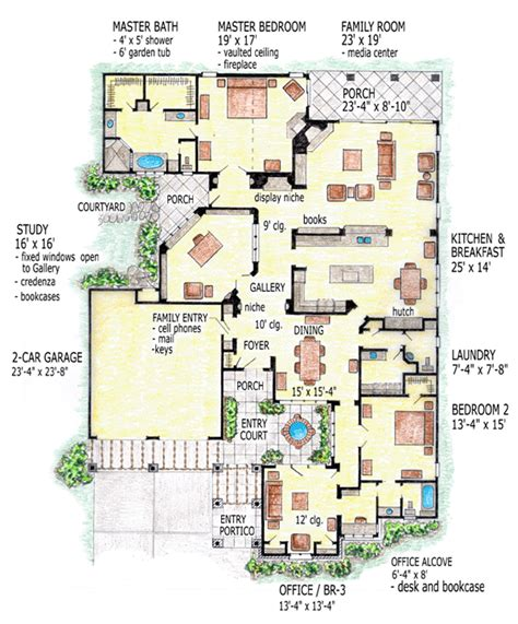 home plans florida house plan 56544 at familyhomeplans com