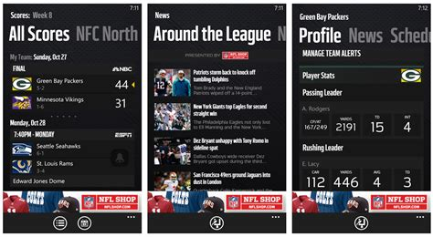nfl mobile scores windows phone apps for the armchair in all of