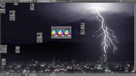 blender tutorial tornado how to create a lightning storm in blender youtube