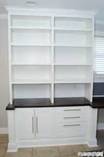Block Bookcase Built In Office Furniture Plans Cara Collection Sawdust