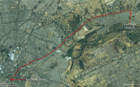 satellite view map satellite map view of shahrah e faisal karachi