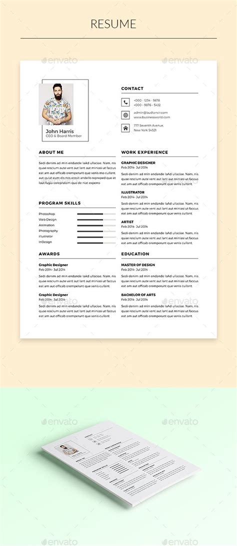 template indd 1000 ideas about resume design template on