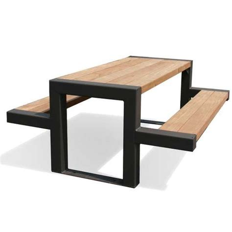 black wood picnic table best 25 metal picnic tables ideas on dinning
