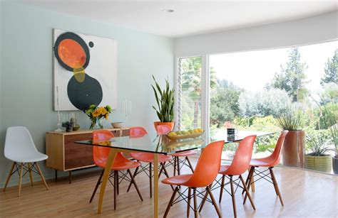 mid century dining room table reaching the perfect mid century modern look in your