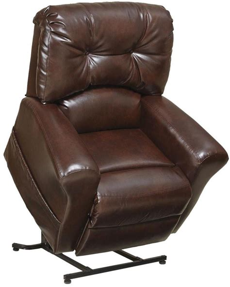 lay back recliner chair landon 4852 recliner with lift assist bonded leather
